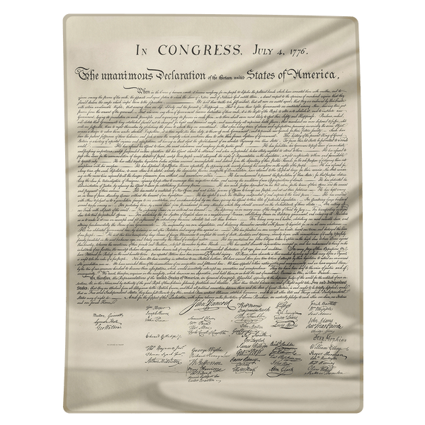 Declaration of independence blanket american af aaf nation declaration of independence blanket publicscrutiny Image collections