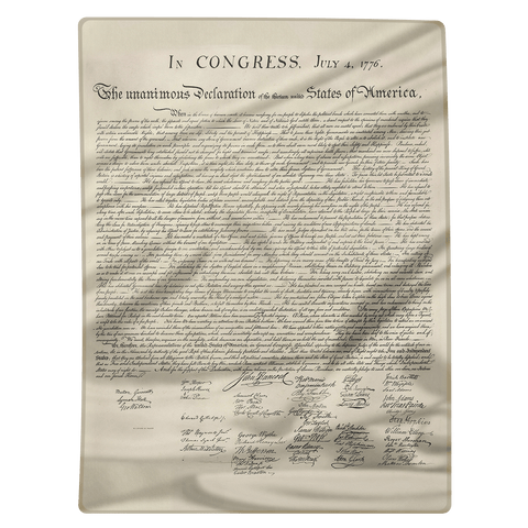 Declaration of Independence - Blanket