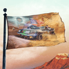Mad Musk: Mars Road - Flag