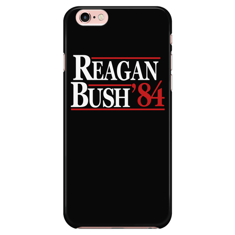 Reagan Bush 1984 V2 - Phone Case