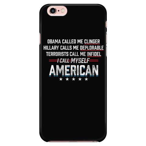 Call Myself American - Phone case