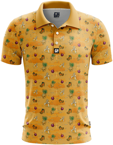 Fruit War Golf Polo