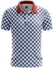 Checkered Golf Polo