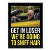 Get in - Sniff Hair - Poster