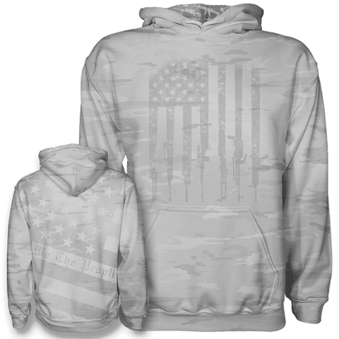 Arctic Camo We The People Hoodie