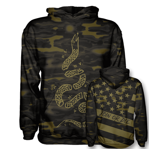 Join or Die - Gold & Dark Camo