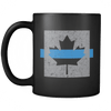 Thin Blue Line Canada Flag - Coffee Mug