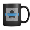 OD: Thin Blue Line Canada Flag - Coffee Mug