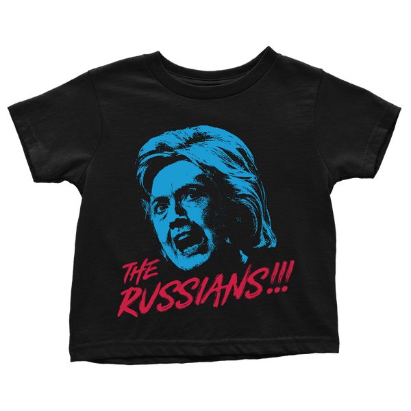 Hillary Clinton Still Blames The Russians - toddlers