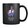 F IS*S - Freedom Finger - Coffee Mug