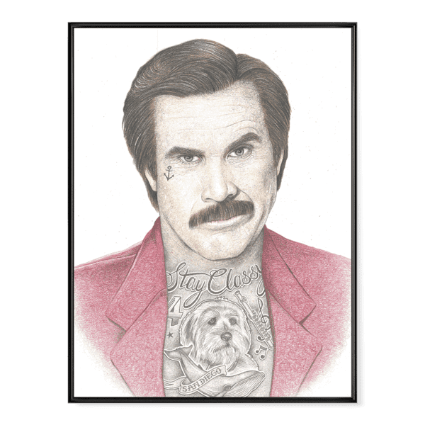 INKED - Anchorman Poster