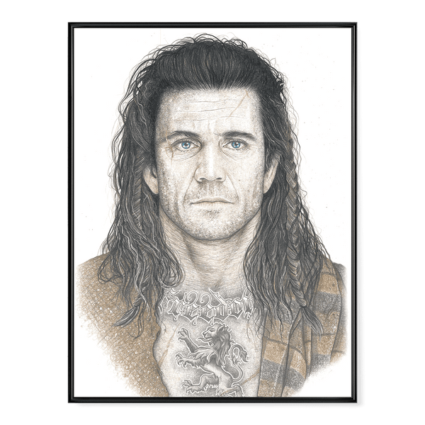 INKED - Braveheart Poster