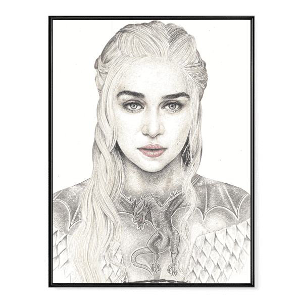 INKED - Mother of Dragons Poster