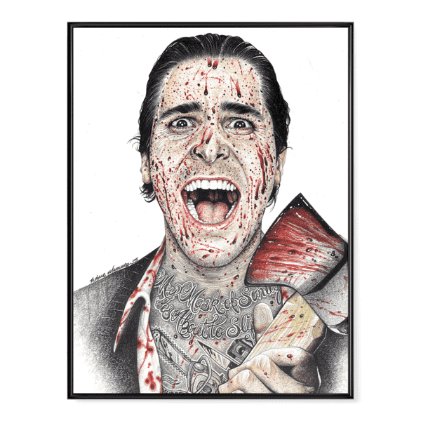 INKED American Psycho - Poster
