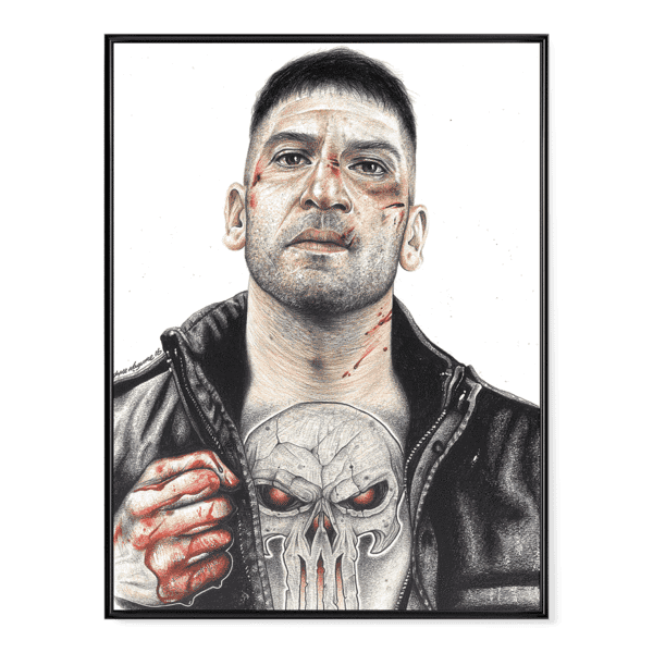 INKED Punisher - Poster