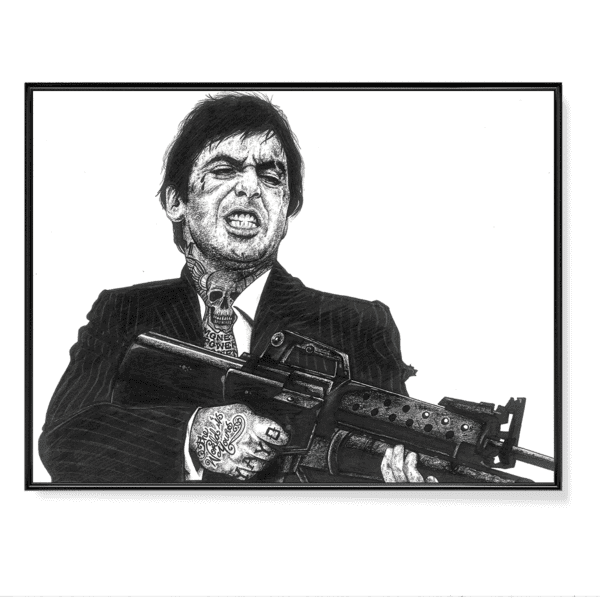INKED Scarface - Poster
