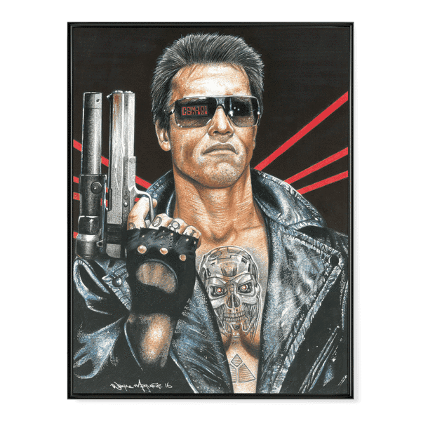 INKED Terminator - Poster