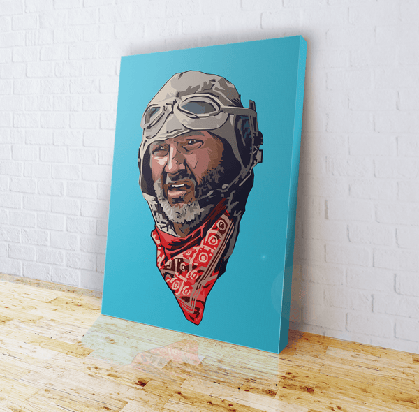 Independence Day - American Hero - Canvas