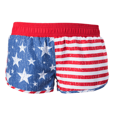 Ladies Flag Shorts