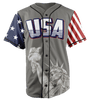 Limited Edition Grey Trump #45 Jersey - Keep America American