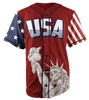 Limited Edition Red Trump #45 Jersey - Keep America American