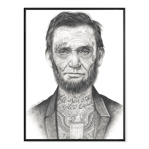 AK: INKED Lincoln - Poster