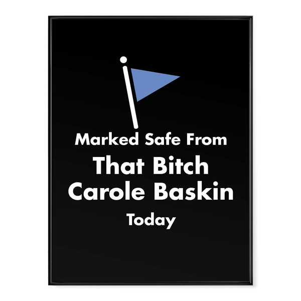 Marked Safe From Carole Baskin - Poster