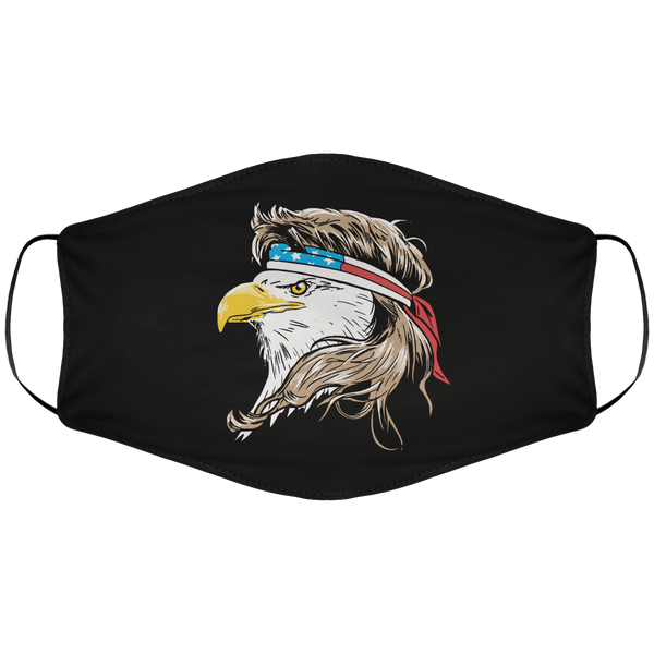 Merican Eagle Face Cover