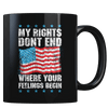 My Rights Don't End - Coffee Mug