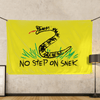 No Step On Snek - Wall Flag