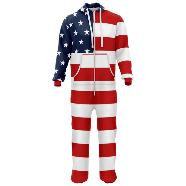 USA Flag Onesie
