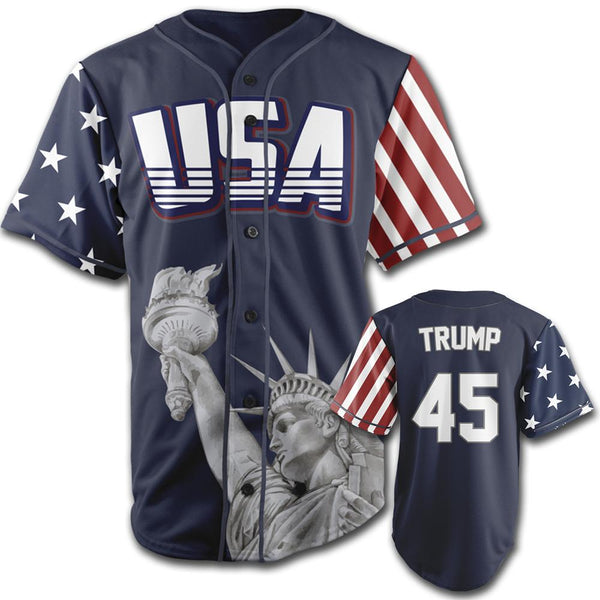 Limited Edition Blue Trump #45 Jersey