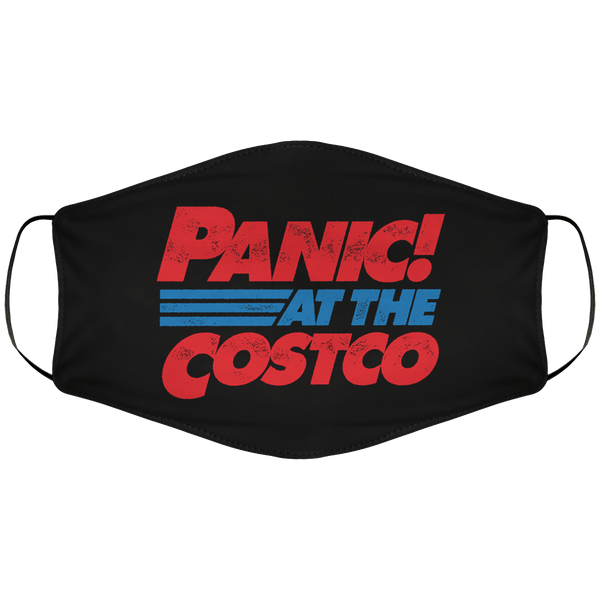 Panic At The Costco Face Cover