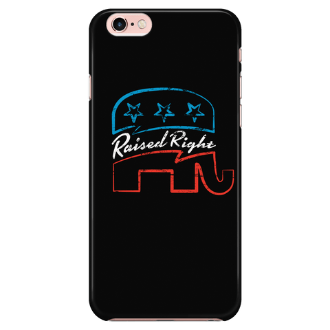 Raised Right - Phone Case