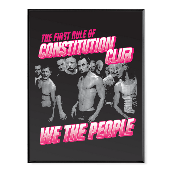 President Fight Club - Poster