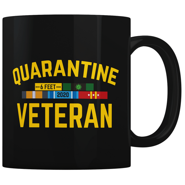 Quarantine Veteran - Coffee Mug
