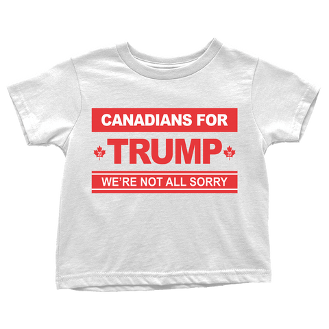 Canadians For Trump - Toddlers