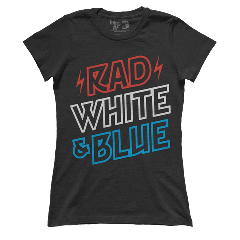 Rad White & Blue (Ladies)