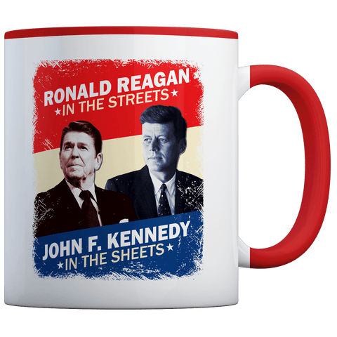 Ronald Reagan - JFK - Coffee Mug