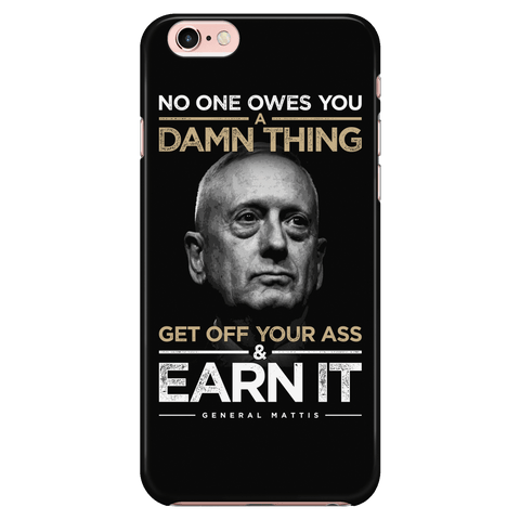 No One Owes You - Mattis - Phone case