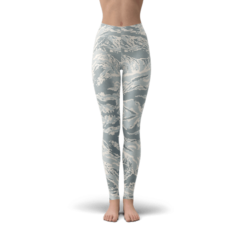 Tiger Stripe Air Force Leggings