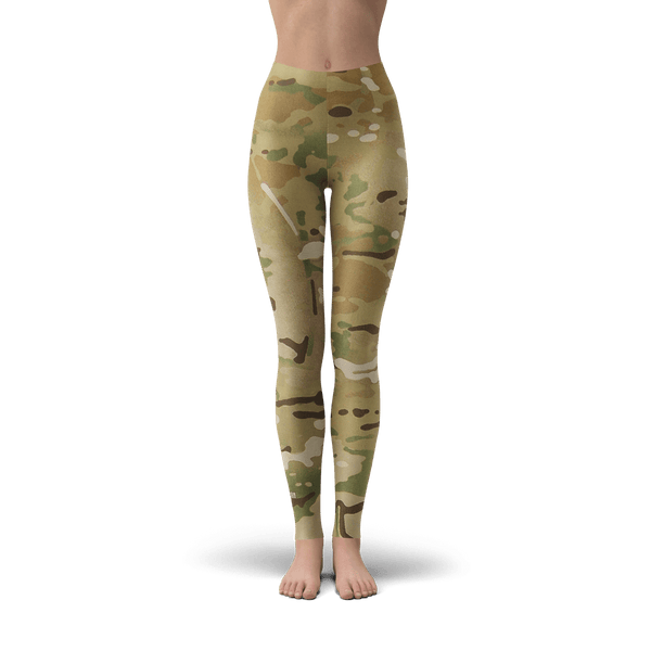 Multi-cam Leggings