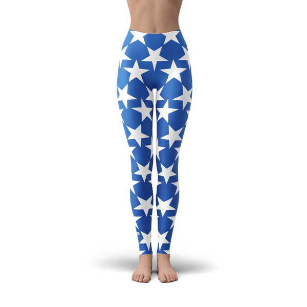 Blue Star Leggings
