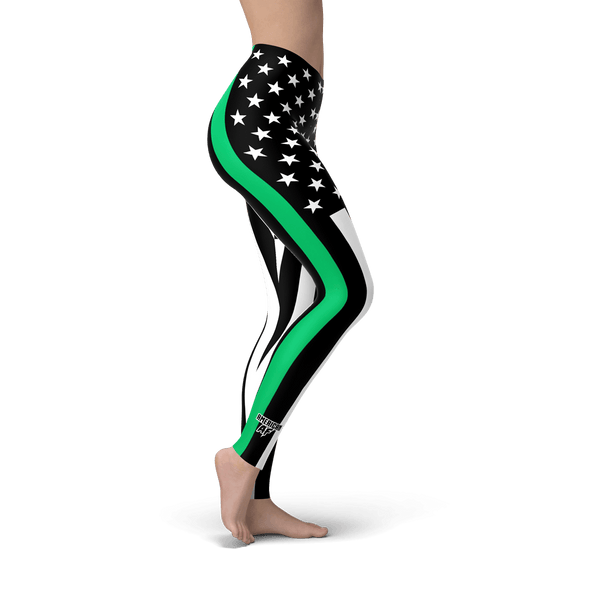 Thin Green Line Leggings