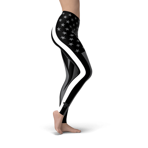 Thin White Line Leggings