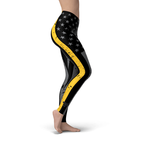 Thin Gold Line Leggings