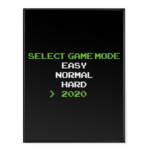 Select Game Mode - Poster