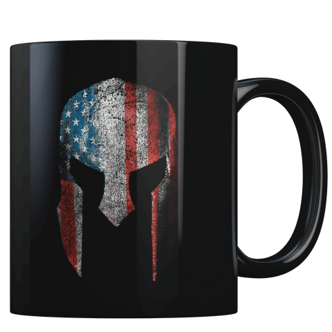 Spartan Flag - Coffee Mug
