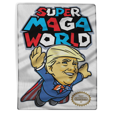 Super MAGA World (parody) - Blanket