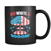 Red, White, and Boom - Coffee Mug